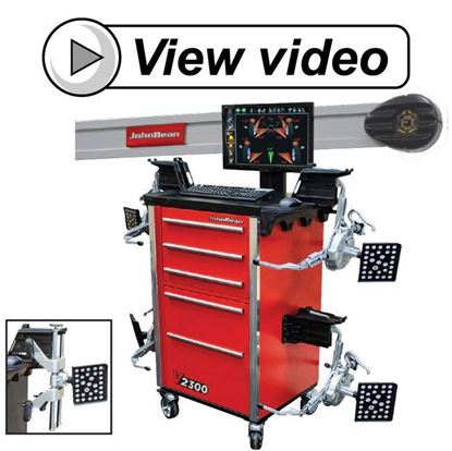 Picture of Video V2300 Imaging Wheel Alignment System