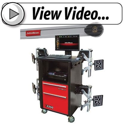 Picture of John Bean V2200 Imaging Wheel Alignment System
