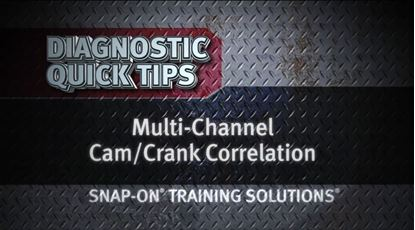 Picture of Multi Channel CamCrank Correlation Diagnostic Quick Tips Snap-on