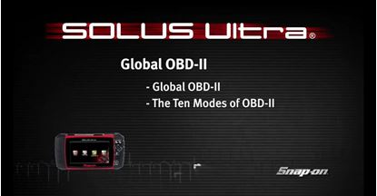 Picture of Global OBD II SOLUS Ultra™ (Part 7 of 8)