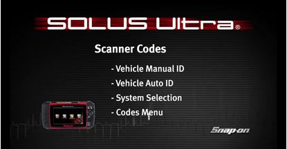 Picture of Vehicle ID & Codes SOLUS Ultra™ (Part 2 of 8)