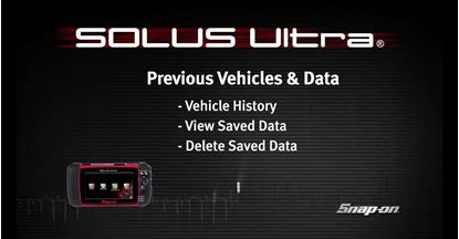 Picture of Previous Vehicles & Saved Data – SOLUS Ultra™ (Part 8 of 8)