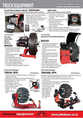 Picture of JohnBean Catalogue Vol 5 - Truck Equipment