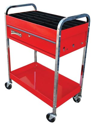 Picture of  1 Drawer Tool Trolley with Wheel Weight Tray