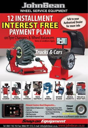 Picture of Snap-on Equipment INTEREST FREE Payment Plans
